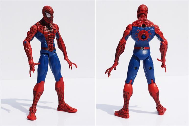 The Avengers Super Heroes Captain America Spiderman Thor Batman Hulk Wolverine Action Figures Toys PVC Dolls 15cm DHL