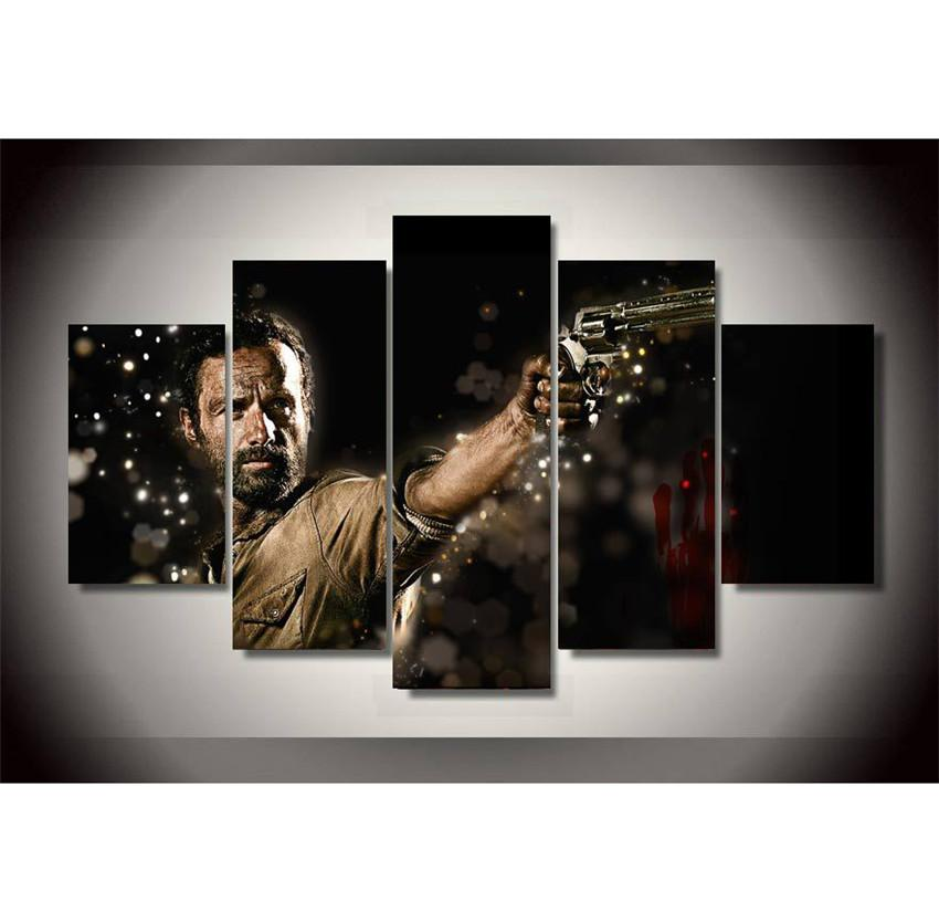 The Walking Deadhome Decor Hd Printed Modern Art Painting On Rhdhgate: Walking Dead Home Decor At Home Improvement Advice