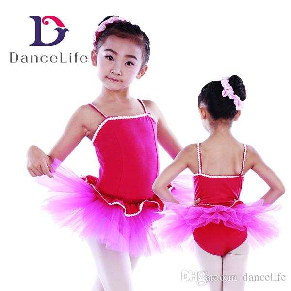 46391c095f24 Child New Ballet Tutu C2246 Two-tone Red Ballet Tutu Dress Wholesale ...