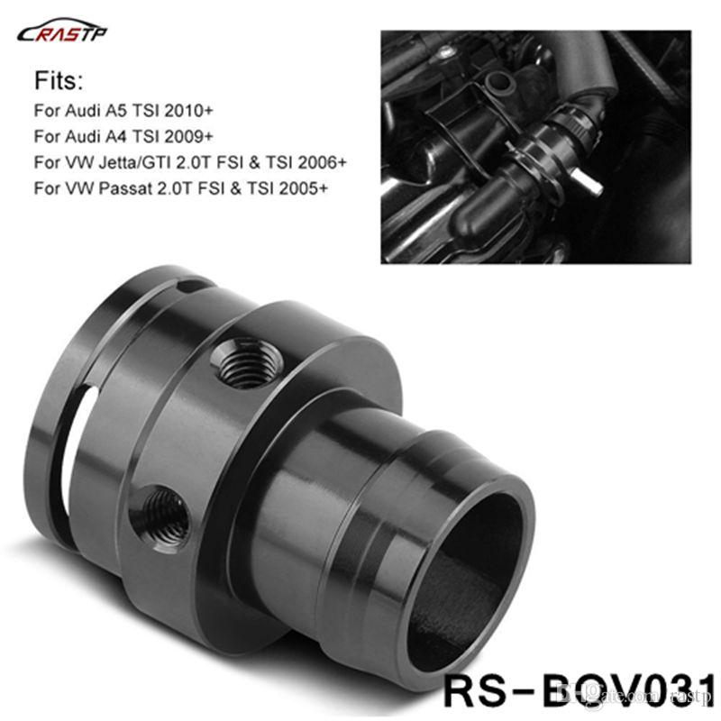 RASTP-Car Turbo Boost Tap Vacuum Sensor Adapter For VW Audi 2 0T FSI TSI  TFSI MK5 GTI B7 A3 A4 TT 06-13 LS-BOV031