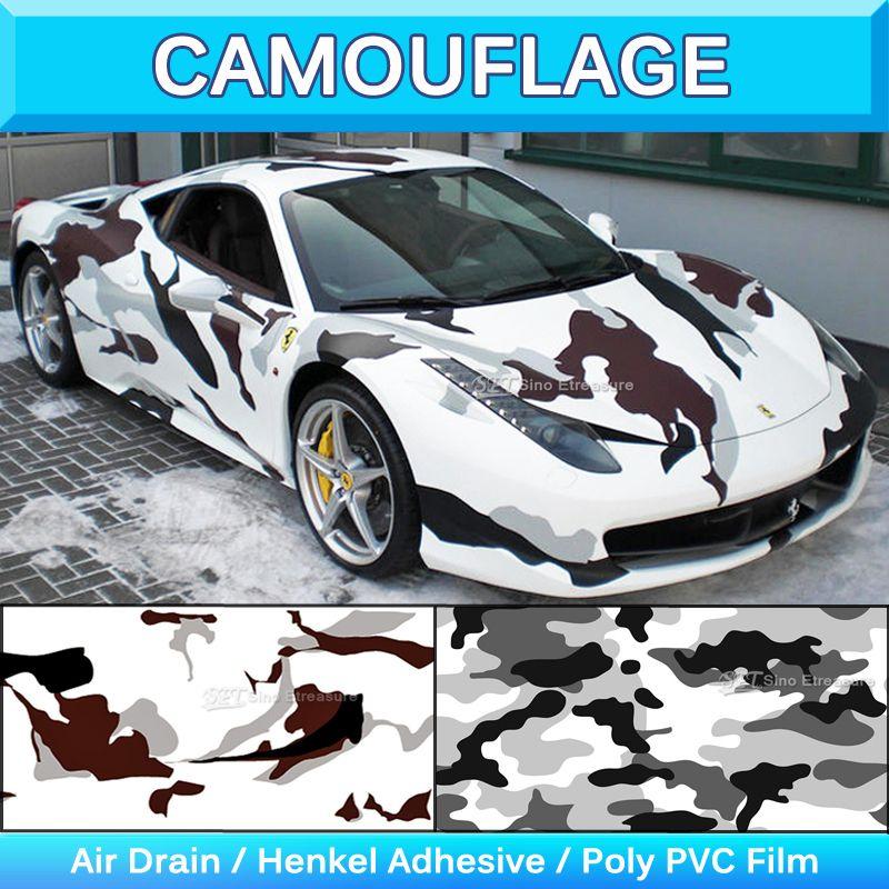 Military Snow Camo Vinyl Sticker Snow Camouflage Vinyl Sheet Truck - Camo custom vinyl decals for trucks