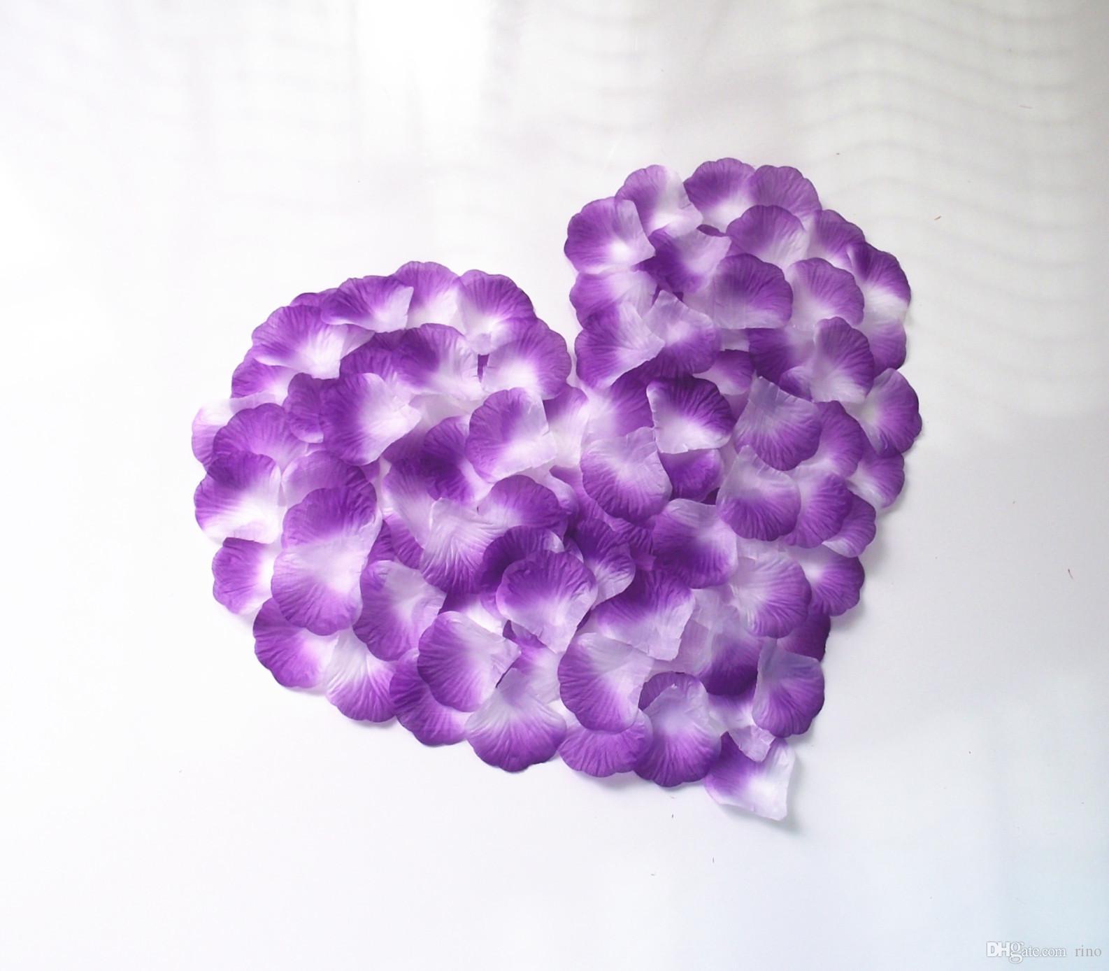 Искусственный шелк Цветы розы Лепестки Украшение свадебного стола Свадебные цветы Лепестки Свадебные аксессуары Аксессуары Цветы