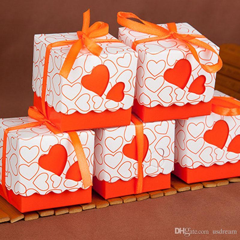в продаже любовь конфеты коробка полые сердца пользу держатели упаковки квадратных кружева подарочные коробки для День рождения Рождество свадебные принадлежности 240151