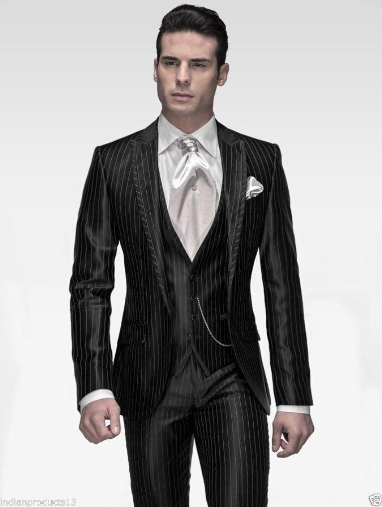 2015 Men Fashion Designer Groom Wedding Dinner Tuxedo Suit Coat ...