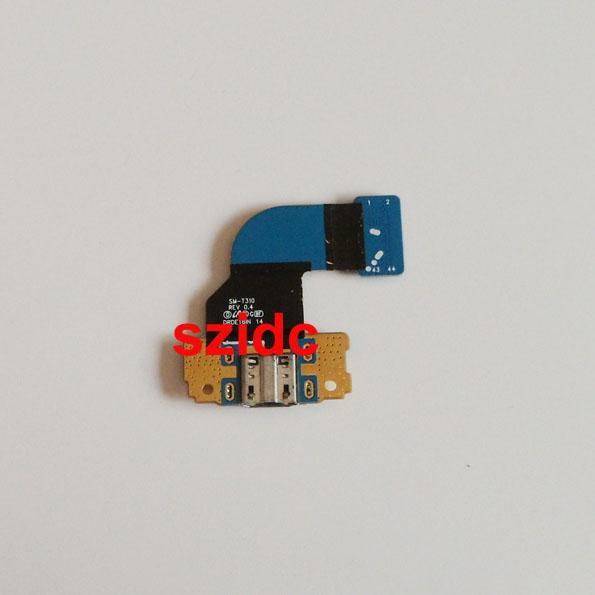 Nuevo cargador de carga Puerto Puerto Dock conector USB Flex Ribbon Cable para Samsung Galaxy Tab 3 8.0 T310 envío gratis