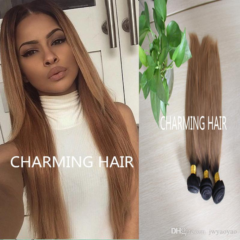 Cheap 2015 hot sale dark root color 1b27 honey blonde ombre dark root color 1b27 honey blonde ombre straight hair extensions virgin peruviantwo tone human hair weaving weft weaved in hair extensions hair extension pmusecretfo Gallery