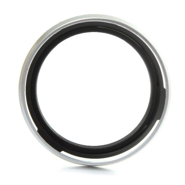 Top Quality Metal Silver 49mm LH-JX100 Lens Hood LA-49X100 Adapter Ring for Fuji Fujifilm X100 X100s New order<$18no track