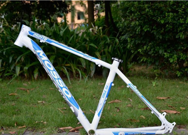 bicycle frame size mosso 2621 tb lightweight high strength aluminum 7005 mountain bike frame free shipping - Mountain Bike Frame Size