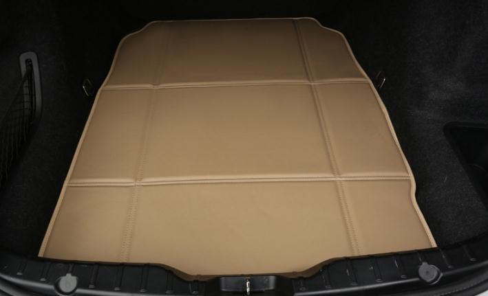 Porsche cayenne için su geçirmez darbeye dayanıklı PU deri katlanır araba gövde mat
