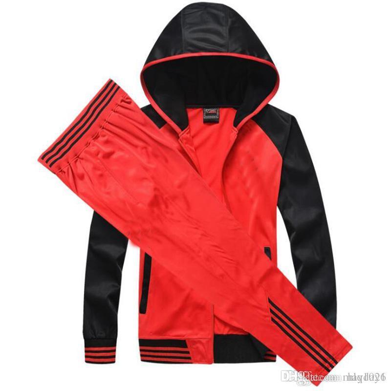 Heiße Neue Hoodies Männer Training Pullover Frühling Herbst Langarm Sport Feste Kapuze Sweatshirts Männlichen Warme Fleece Casual Sportwear Sportbekleidung