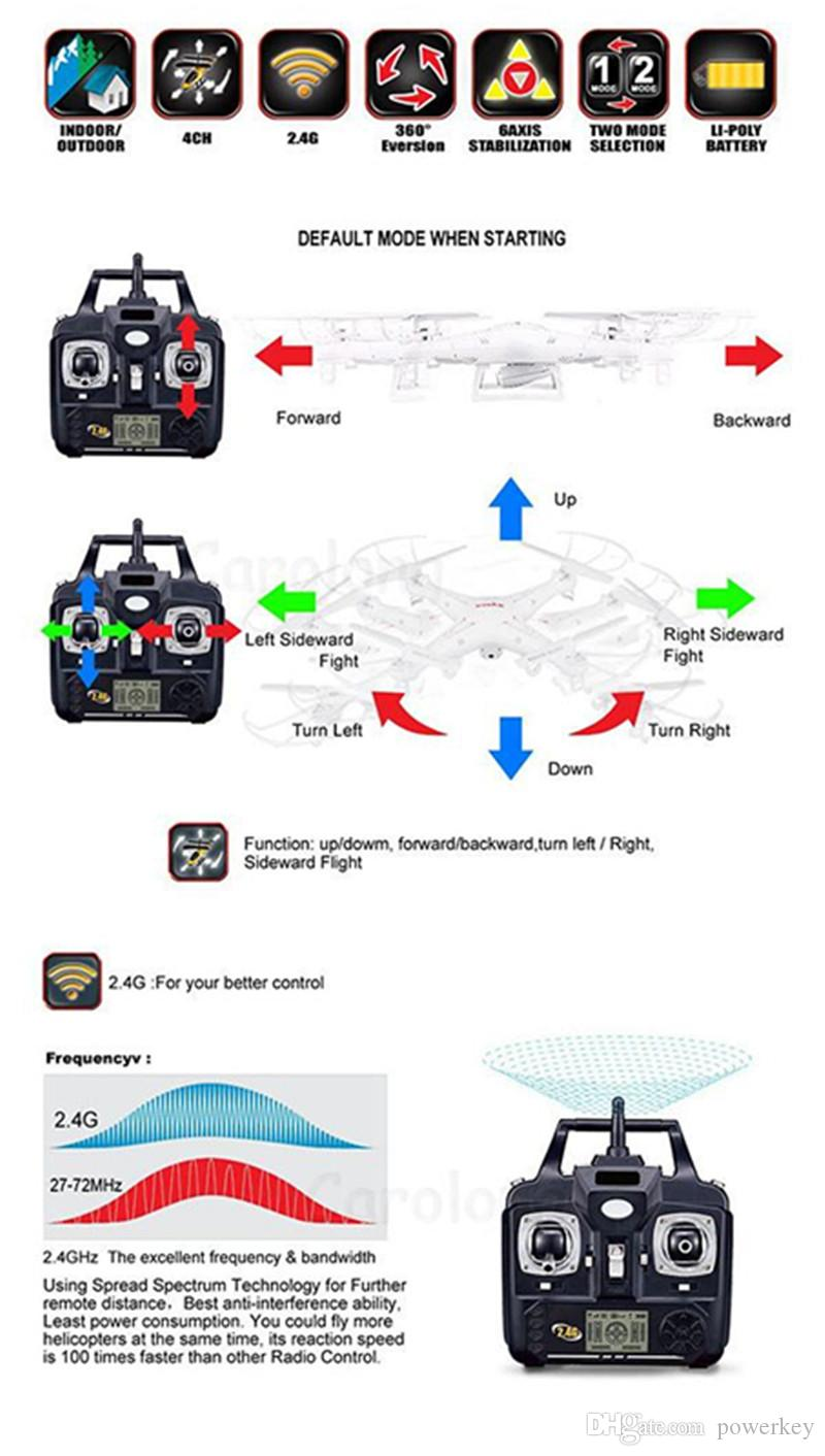 RC Helicopter Quadcopter SYMA X5C-1 New Upgrade Version X5C 2.4GHz 4CH 6 Axis Gyro 2GB TF Card with 2MP HD camera