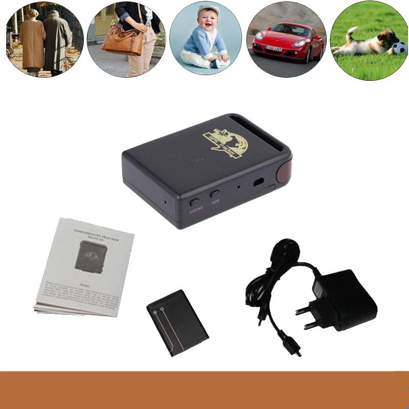 Mini GPS/GSM/GPRS Car Vehicle Tracker TK102B Realtime tracking device personal Track device for car people pets