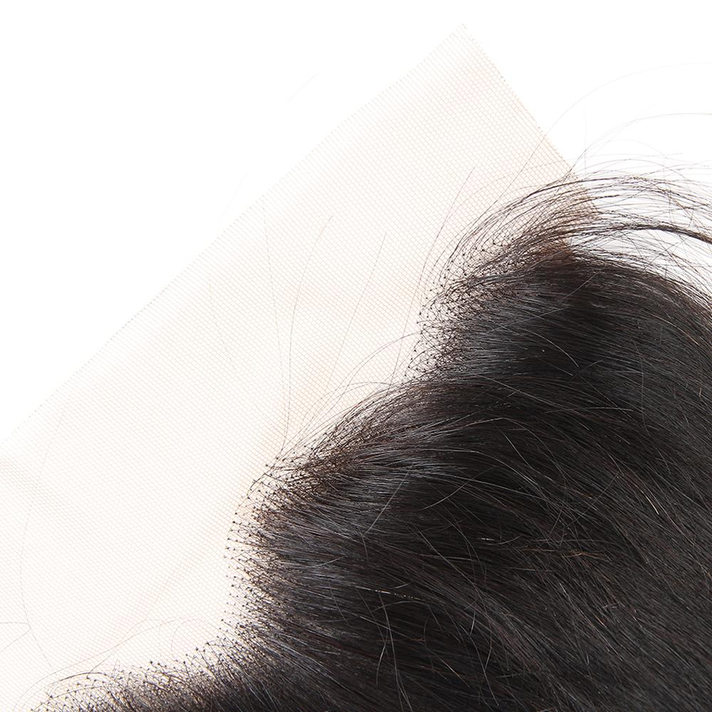 Brésilien vague de corps vierge faisceaux de cheveux humains avec fermeture frontale en dentelle brésilienne péruvienne malaisienne vague de corps extensions de cheveux humains naturels