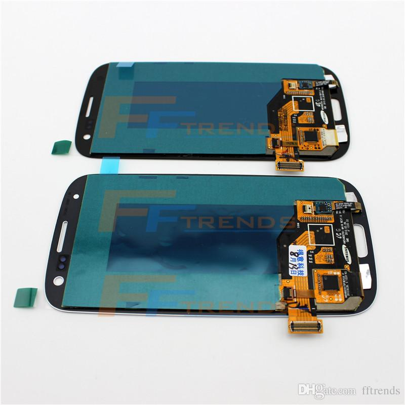 for Samsung Galaxy S3 i9300 LCD Touch Screen & Digitizer Assembly i9305 L710 R530 i535 T999 i747 100% Test Original LCD Top Quality