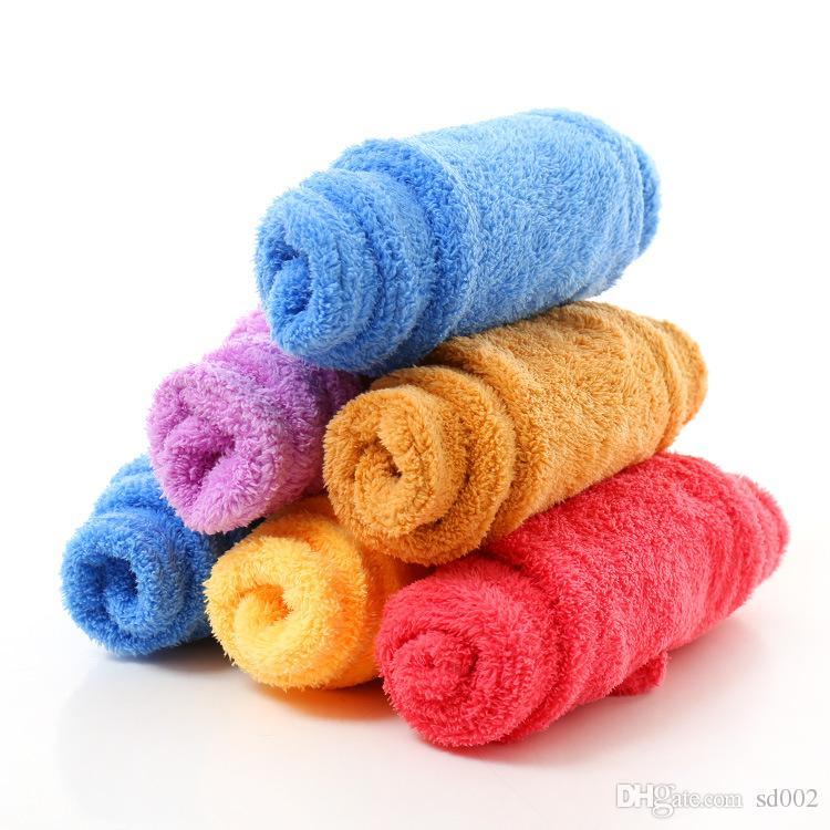 Süper Fiber Havlu Su Alma Mercan Kadife Kuru Saç Duş Başlığı Ev Banyo Makaleleri Çok Renkler Için 4ht C R