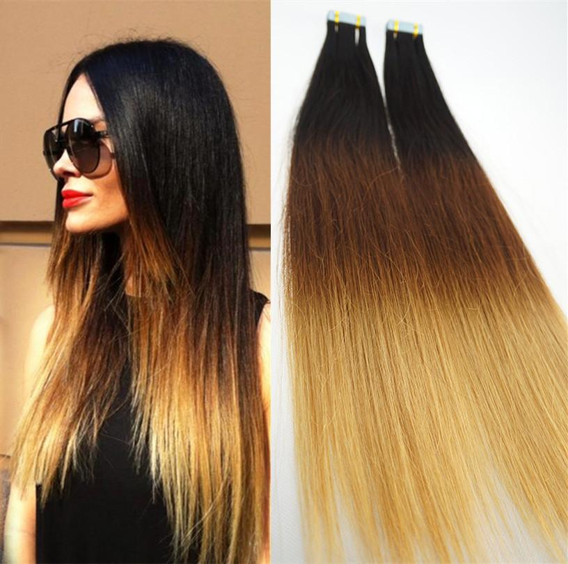 2016 fashion ombre tape in human hair extensions 14 28 inches 2016 fashion ombre tape in human hair extensions 14 28 inches strong blue lace adhesive tape hair extensions pmusecretfo Gallery