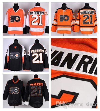 2017 2016 new cheap ice hockey 21 james vanriemsdyk philadelphia flyers  jerseys winter ... 73d7f41b4