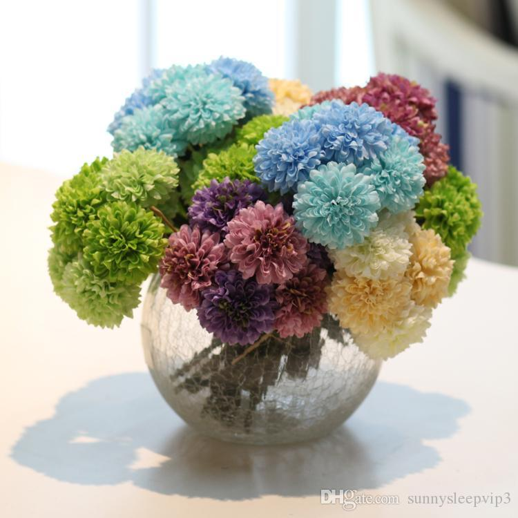 Crack Round Ball Glass Vase Broken Flower Pot Fish Tank Hydroponic