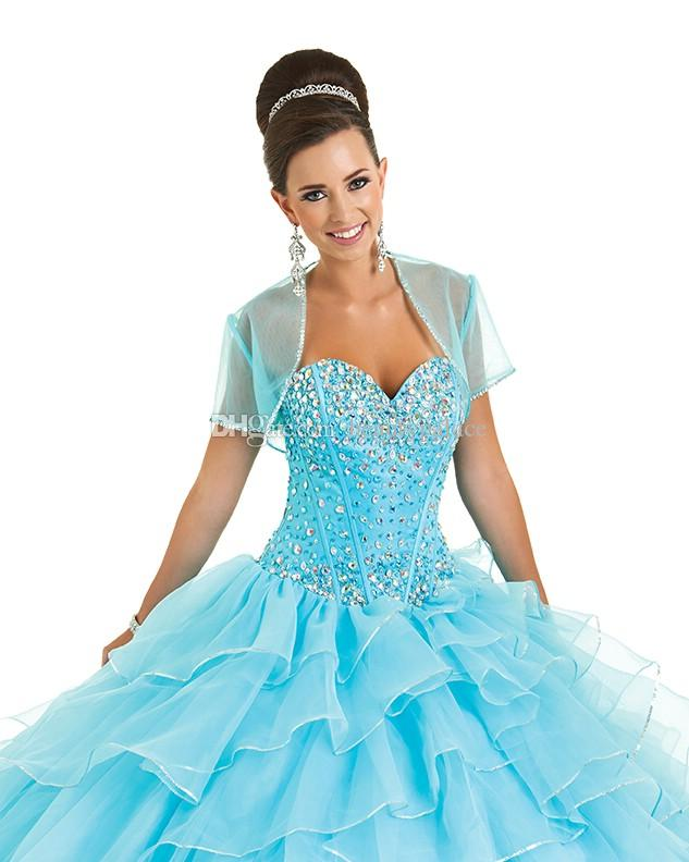Beading Sweetheart Floor Length Quinceanera Dresses 2016 Ball Gowns Girls Sweet 16 Masquerade Prom Dress A Petticoat For Free