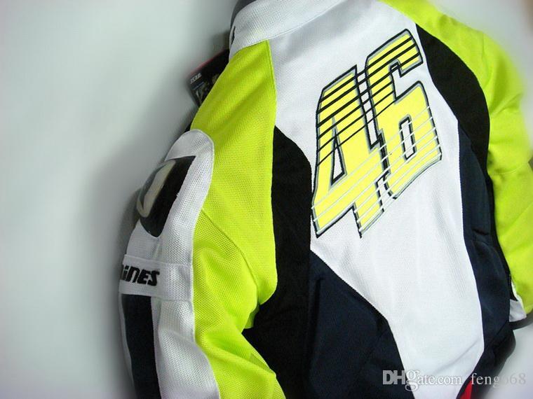 2015 novo verão VR46 Rossi D1 motocross motocicleta roupas de corrida de moto ternos de moto de titânio e malha S M L XL XXL XXXL