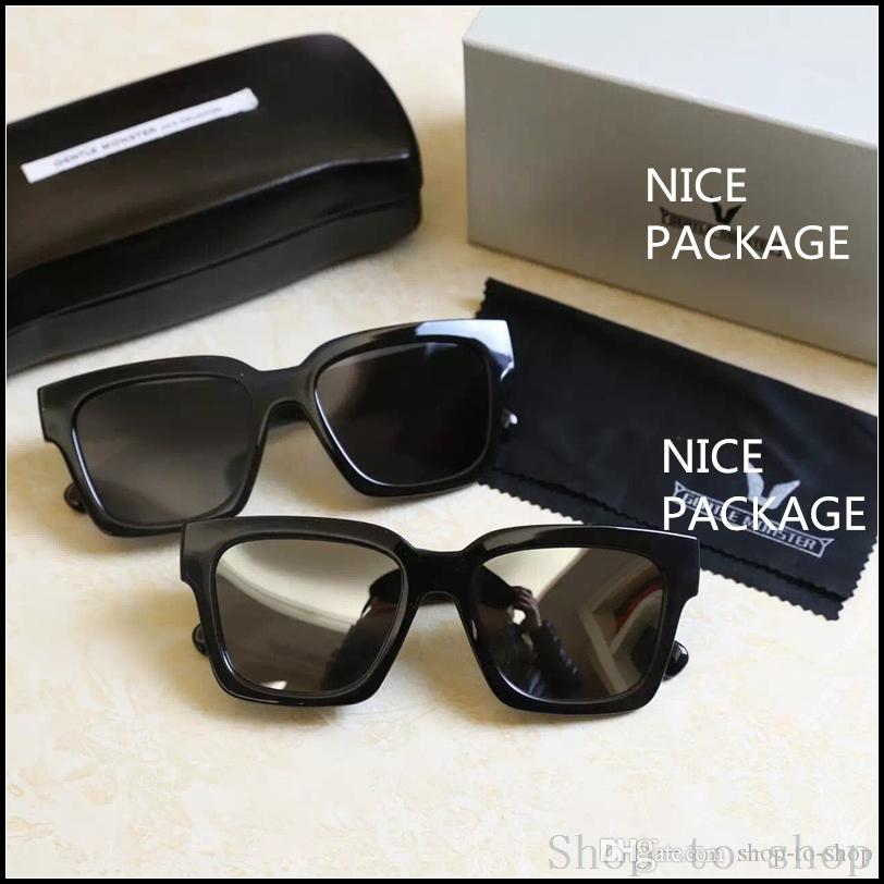 0e090b9877b8 2016 V Square Frame Glasses Vintage Gentle Monster Handmade Women Men  Designer Sunglasses Sunglasses Hut Reading Glasses From Shop To Shop