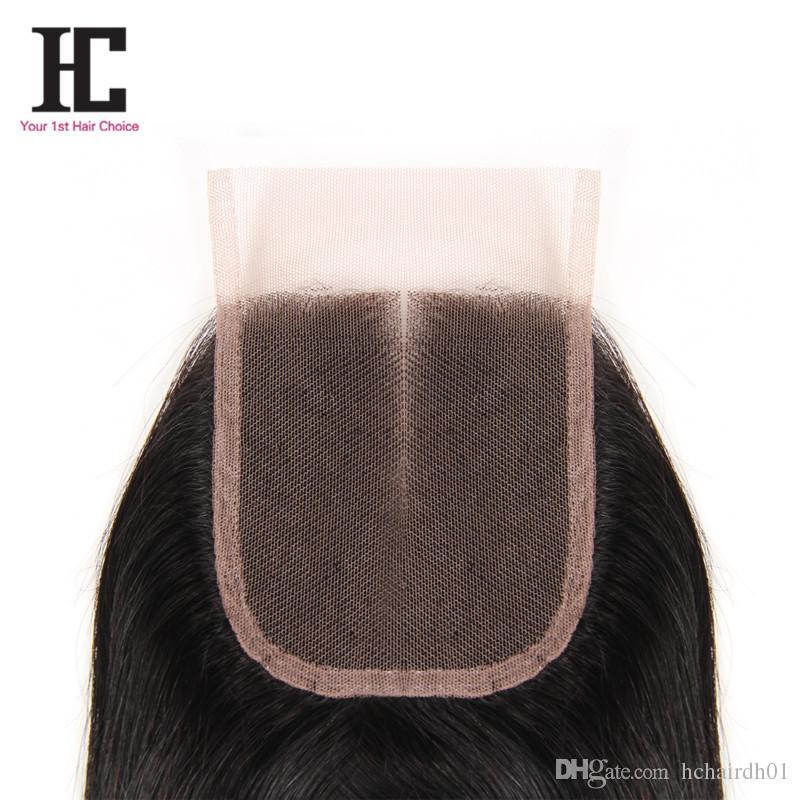 HC Hair Unprocessed 4 Bundles Brazilian Body Wave With Lace Closure Brazillian Body Wave Hair Wefts Bundles With Closures HC Hair Product