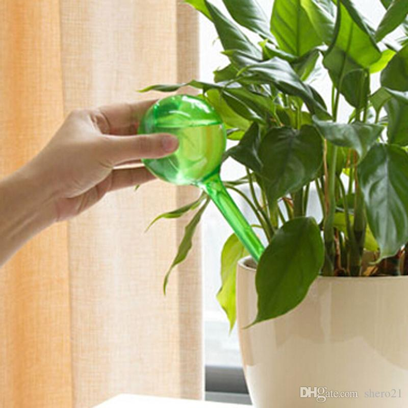 New Fashion Auto Watering Dripping Mini Plastic Bottles Flower Plant Potted Plants Water Supplies for Travel Outdoor