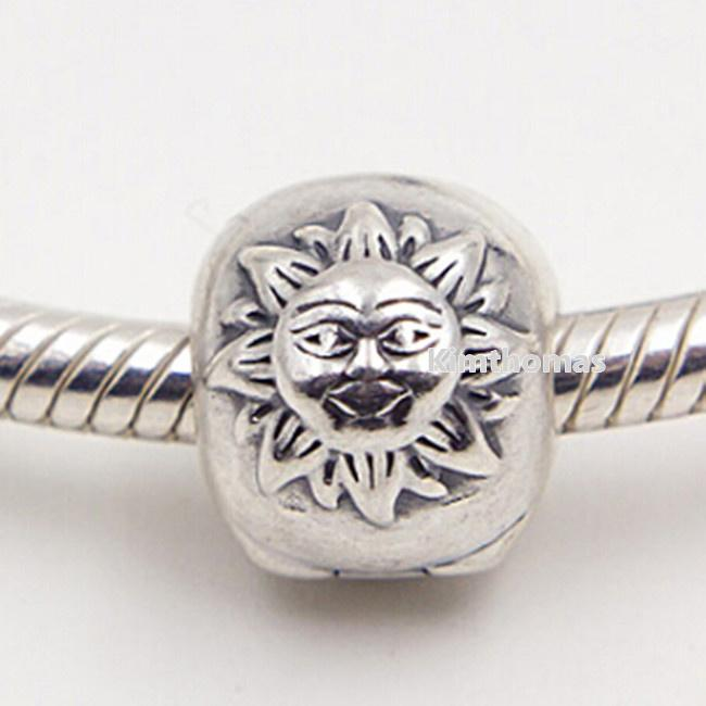 100 925 Sterling Silver Magic Sky Clip Charm Bead Fits