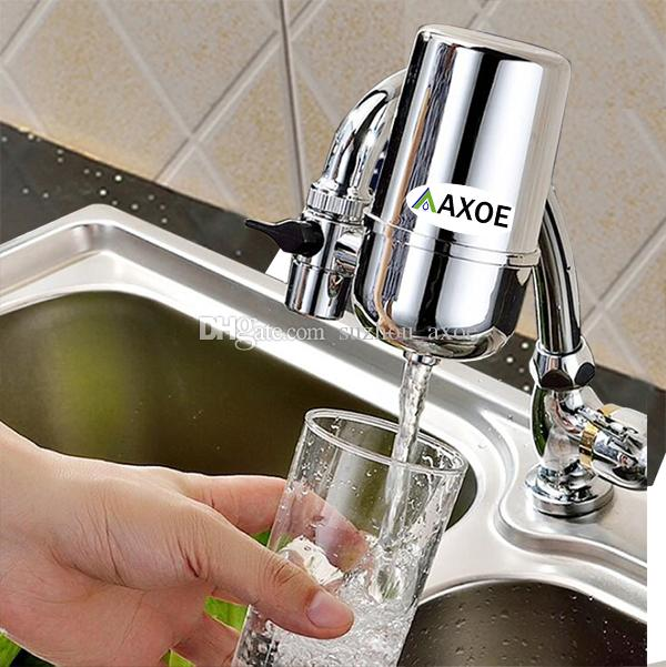 2018 Faucet Mounted Water Filter For Kitchen With Recycleable Filter ...