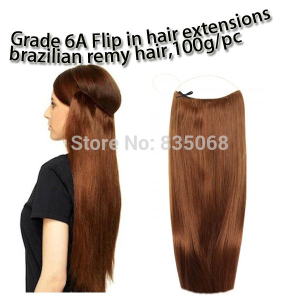 2018 grade 6a double drawn hair flip in hair extensions halo hair see larger image pmusecretfo Image collections