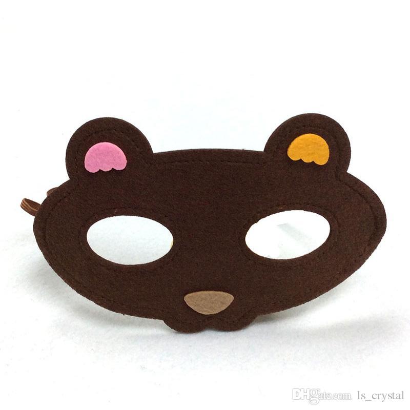 Kinder Tag Cartoon Tier Kinder Maske Geburtstag Party Kinder Maskerade Party Maske Festliche Cosplay Leistung Kinder Geschenk Liefert