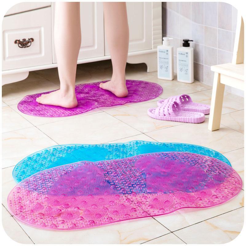 Online Cheap Color Bubble Bathroom Shower Mats Anti Slip Sucker Pvc ...