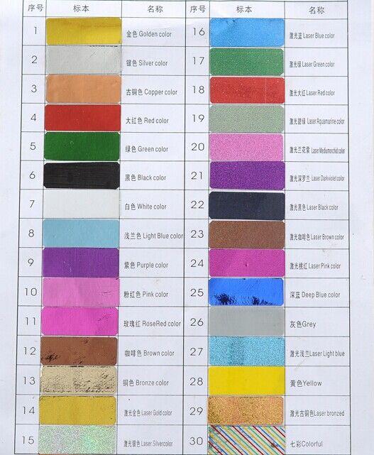 Chaude Populaire 30 Mélange Couleur Métallique Fil Ligne Rouleaux Bande De Stripage Nail Art Beauté Décoration Autocollant Outils Livraison Gratuite