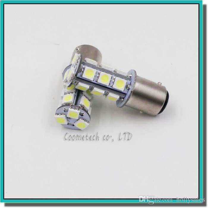 Haute qualité 1156 382 BA15S p21w 1157 BAY15D p21 / 5w bay15d PY21W led ampoule 18 smd 5050 feu arrière clignotant lampe ampoule 12V
