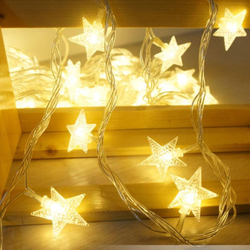 wholesale led christmas light led lighted leaf harvest fall leaves garland lights string thanksgiving decor star light bulb light string lights led