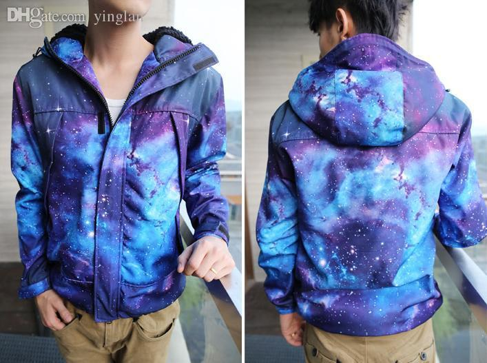 7b76159561e Fall-Hot Galaxy Ski Jacket Winter Outdoor Jacket Trench HARAJUKU ...