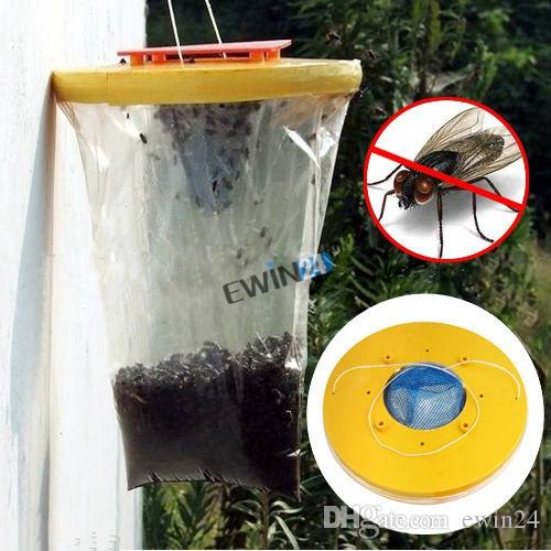 New and High Quality Red Drosophila Fly Trap Top Catcher The Ultimate Fly Catcher Insect Bug Killer