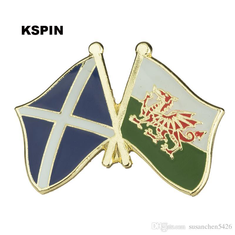 Bandiera europea amicizia Cipro Bandiera Badge Pin XY0077