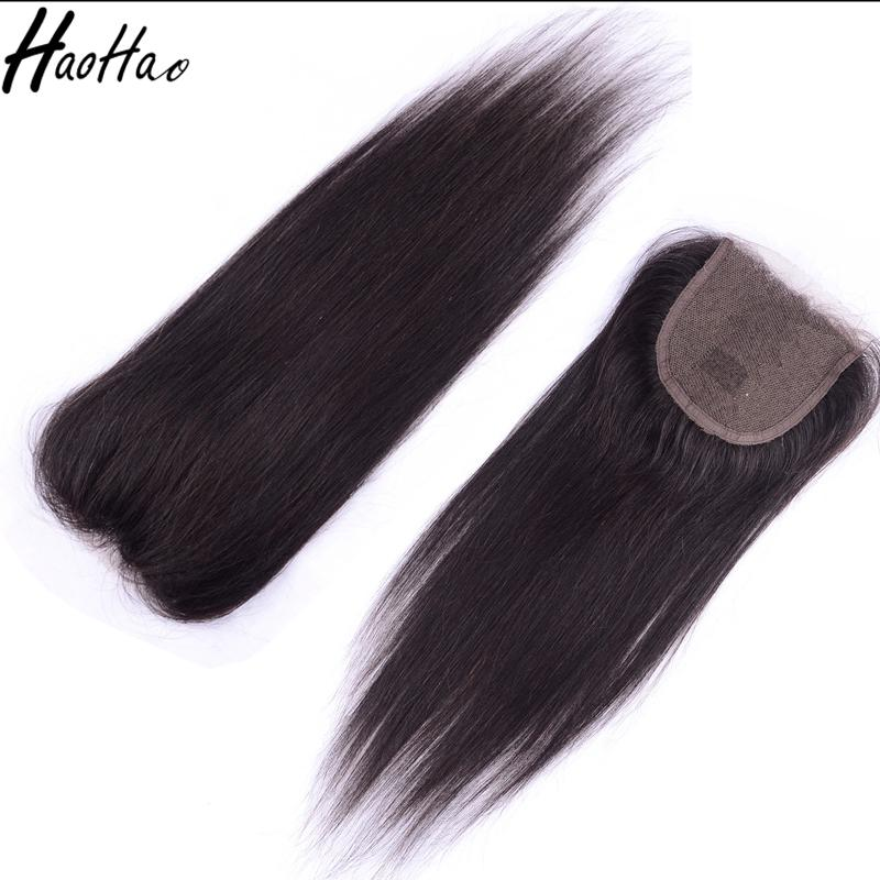 Brazilian Virgin Human Hair Weave Closures Body Wave Straight Natural Black 4x4 Lace Closures Free Part 8-26 Inches
