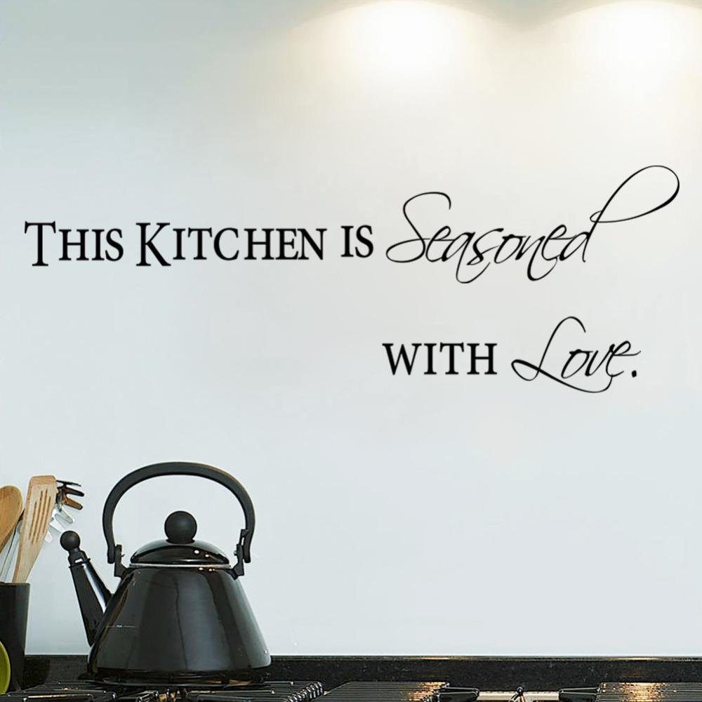removable letter kitchen with love wall stickers vinyl art removable letter kitchen with love wall stickers vinyl art wallpaper for beautiful decal decor home decoration vinyl wall mural wall sticker kids wall