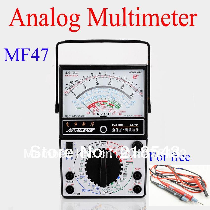 Farad Symbol On Multimeter : Mf traditional analogue multimeter analog panel