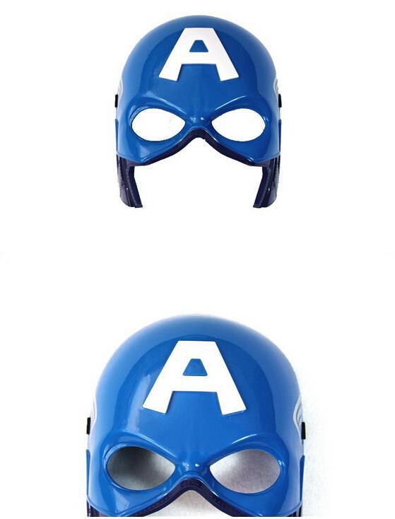 Máscara LED de Navidad superhéroe brillante para niños adultos vengadores Marvel spiderman ironman capitán américa hulk batman fiesta máscara