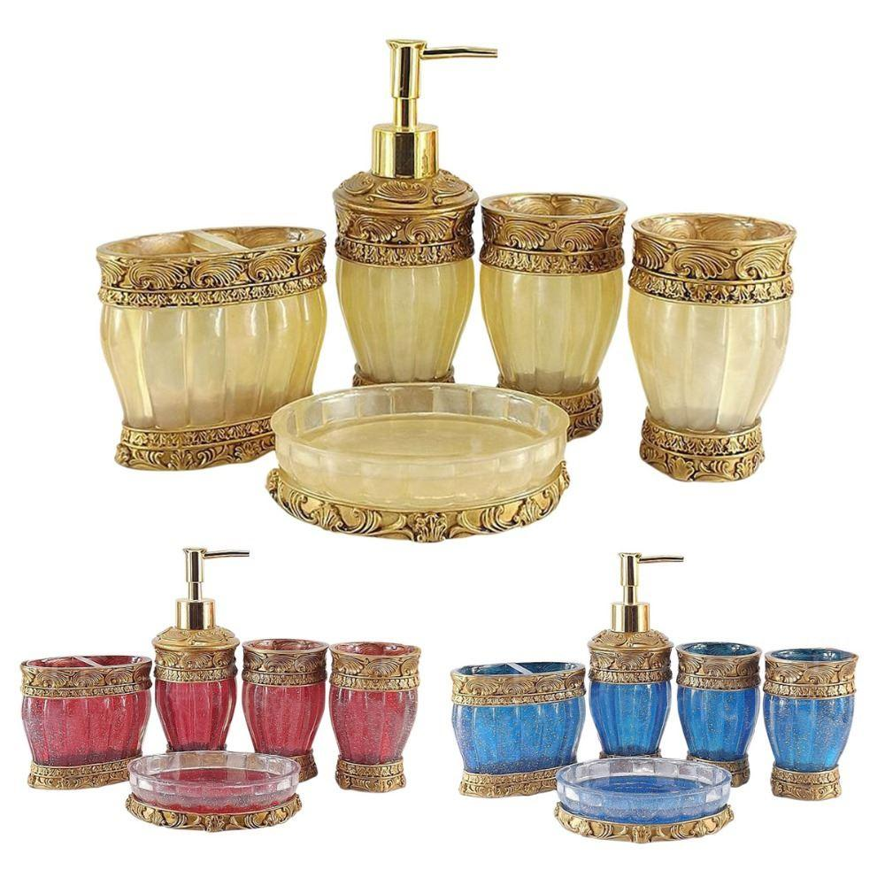 Gold bathroom sets - See Larger Image