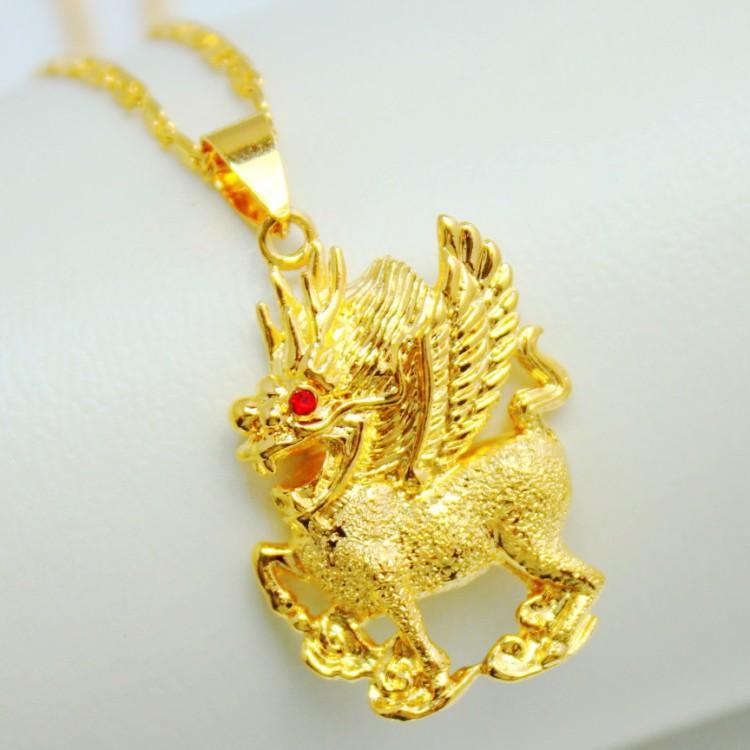 Colgantes oro animales
