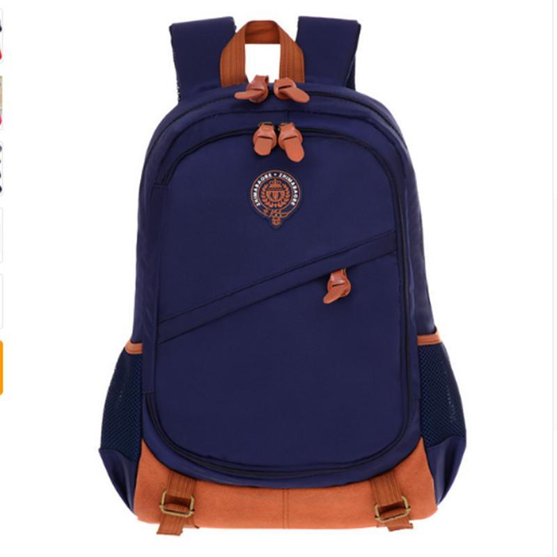 9379cd58e738 Children School Bags For Boys Girls Waterproof Orthopedic School Bag ...