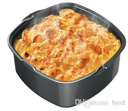 mini in alluminio da forno Piatti Pentole gratinati piatti pagnotta di pane piatti a torta della focaccina della torta della pizza pentole 174 * 164 * 70MM