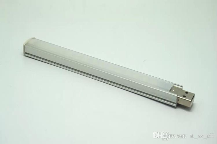 Éclairage de bureau 15 LED USB Portable Light Lamp pour voyager / Camping câble USB et banque d'alimentation ne sont pas inclus
