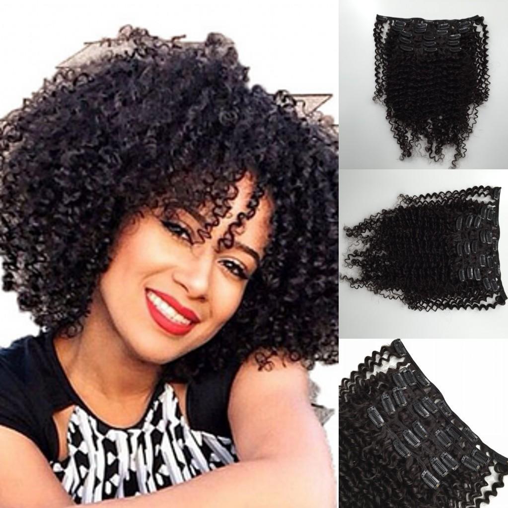 Interlovehair Brazilian Hair Weaves Clip In Remy Human Hair