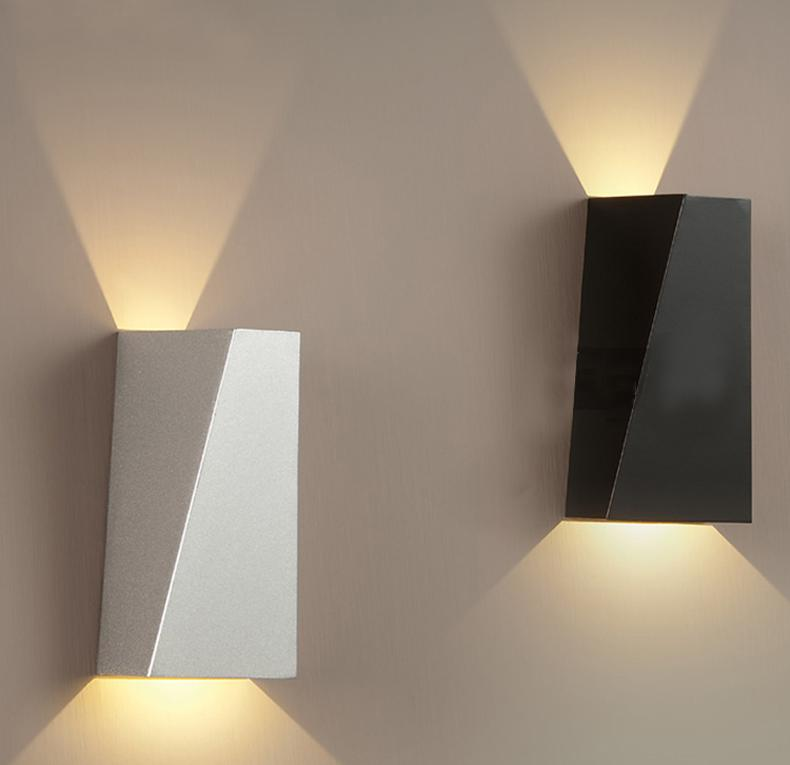 Simple modern wrought iron wall lamp led wall lamp living room 14 mozeypictures Gallery