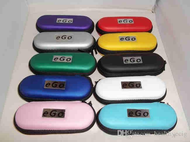 Ego evod case bag com zíper levar casos para ecig e-cig kit ego cigarro eletrônico cigarros com multi cor 09h058